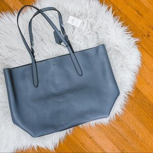 NWT Coach Hudson Grey Tote in Smooth Leather